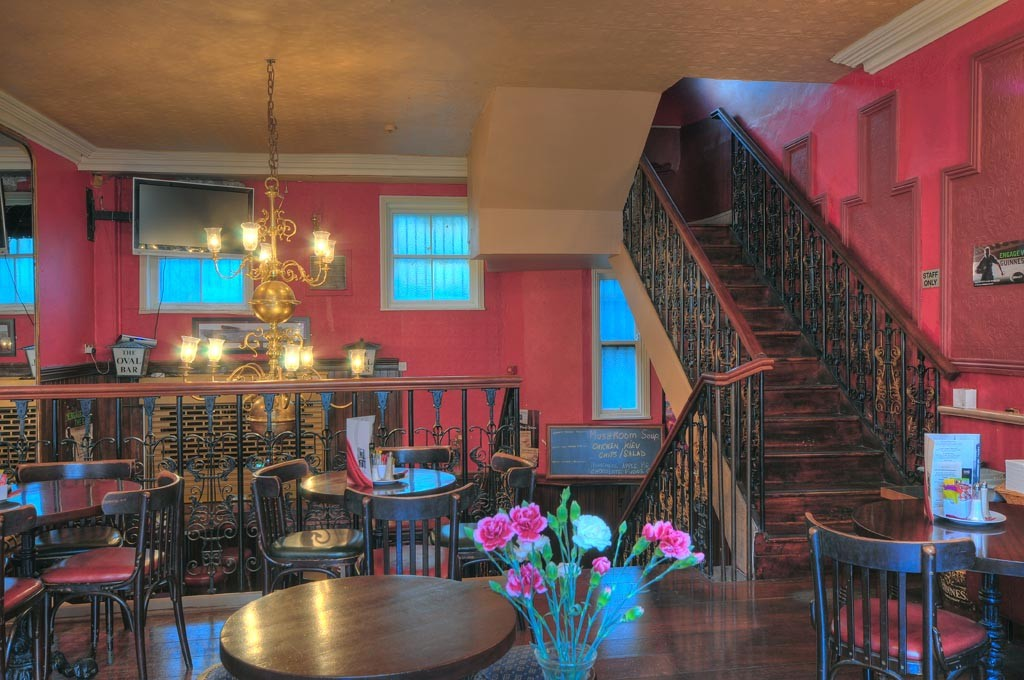 Our upstairs private function area